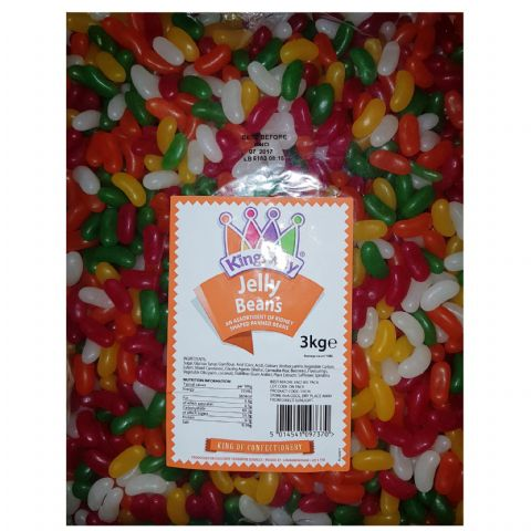 Jelly Beans - Mini Jellybean Machine Refills Kingsway Wholesale Bulk Buy Bag 3kg